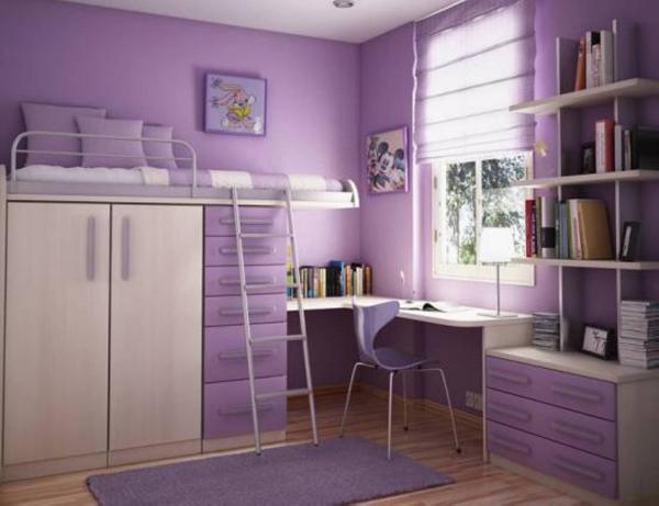 Идеи для маленькой детской комнаты - фото