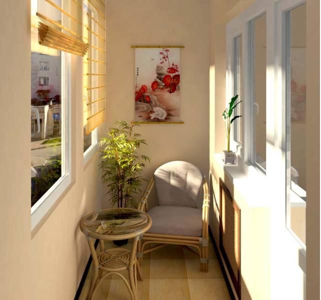 Жилой балкон - фото