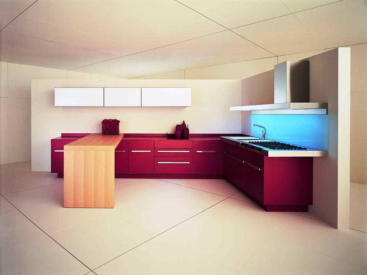 Минимализм,  стиль оформления  кухни