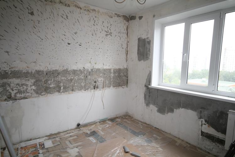 Фото ремонта квартир своими руками до и после фото