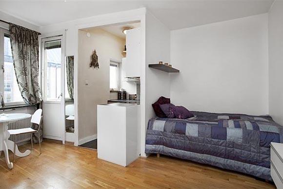 Планировка маленьких спален