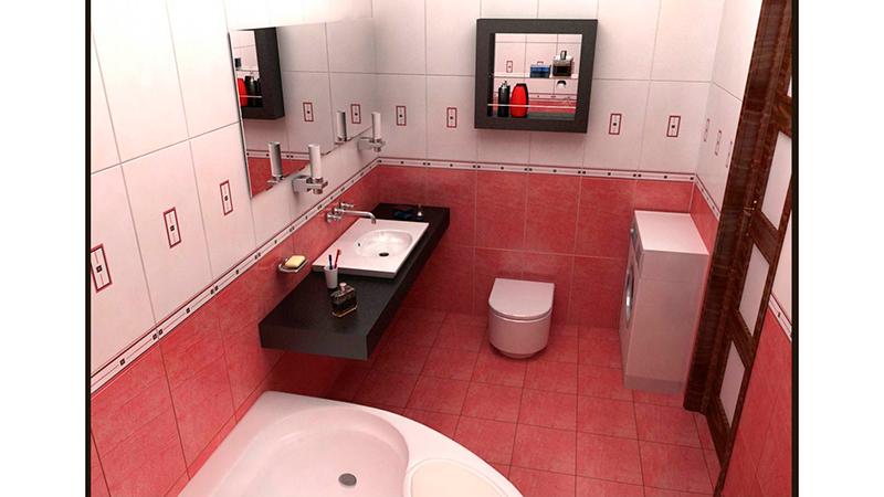 Ванная комната дизайн малогабаритной