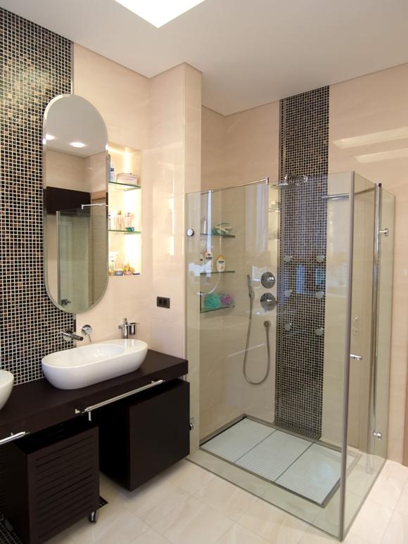 Ванные комнаты с уголком окраска ванной комнаты дизайн