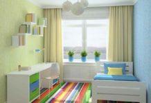 Полы в маленькой детской комнате