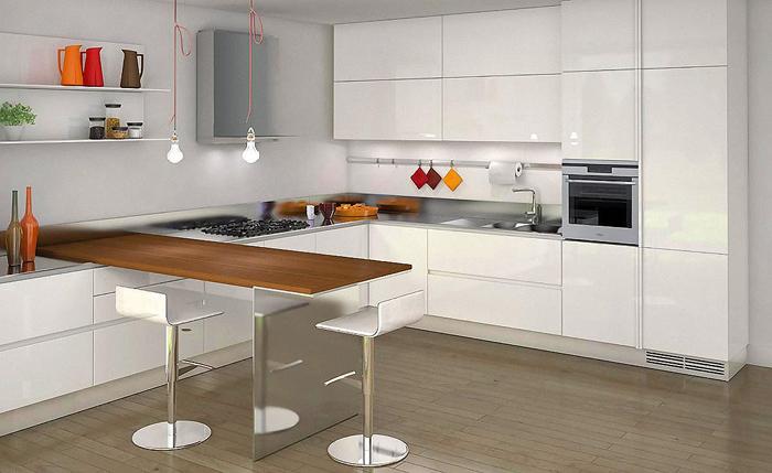 Кухня минимализм