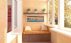 Мебель для маленького балкона