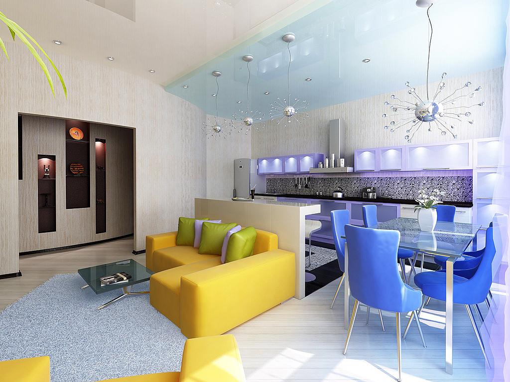 Мебель для маленькой квартиры-студии