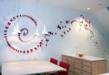 Декоративные бабочки для украшения стен и потолка квартиры
