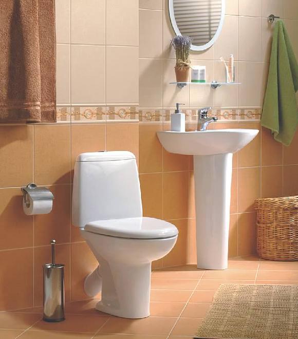 Ремонт и отделка маленького туалета