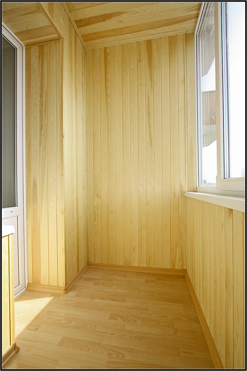 Ремонт и отделка маленького балкона