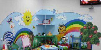 Детский уголок в маленькой спальне