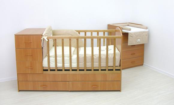 Детская кровать-трансформер для маленьких комнат