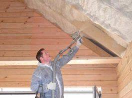 Утепление крыш деревянных и каркасных домов
