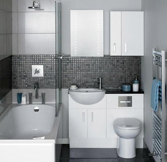 Мебель для маленьких ванных комнат